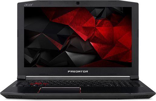 "Ноутбук ACER Predator Helios 300 G3-572-70JM, 15.6"", Intel  Core i7  7700HQ 2.8ГГц, 16Гб, 1000Гб, 128Гб SSD,  nVidia GeForce  GTX 1050 Ti - 4096 Мб, Linux, NH.Q2CER.005,  черный"