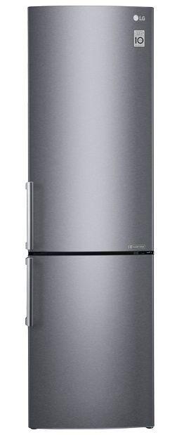 Холодильник LG GA-B499YLCZ,  двухкамерный,  нержавеющая сталь