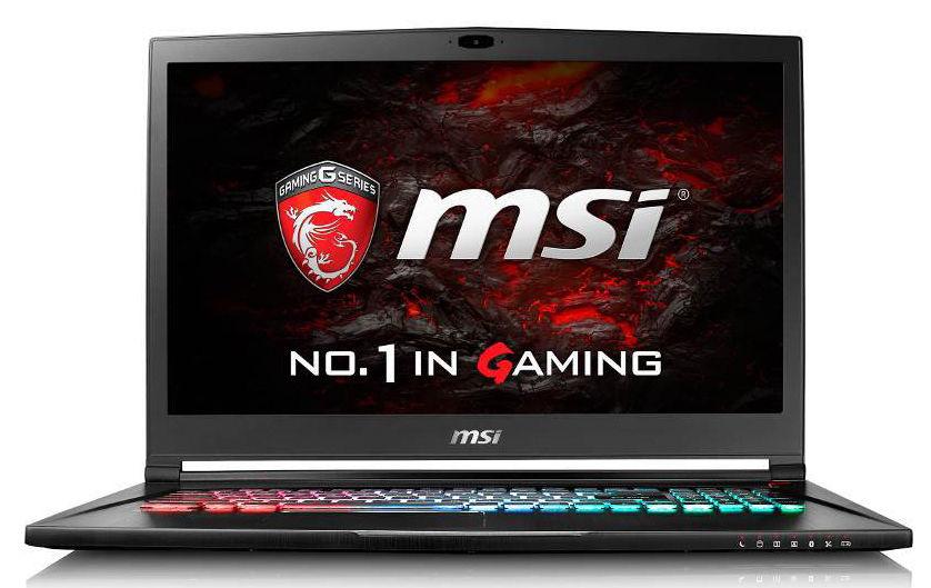 Ноутбук MSI GS73 7RE(Stealth Pro)-015RU, 9S7-17B412-015,  черный