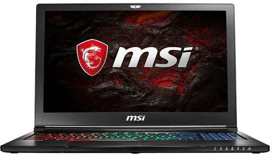 Ноутбук MSI GS63VR 7RF(Stealth Pro)-496RU, 9S7-16K212-496,  черный
