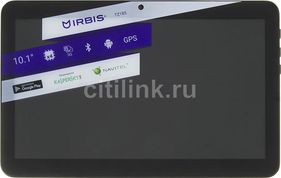 """Планшет Irbis TZ185 SC7731 4C/1Gb/8Gb 10.1"""" TN 1024x600/3G/And6.0/черный/BT/GPS/2M (отремонтированный)"""