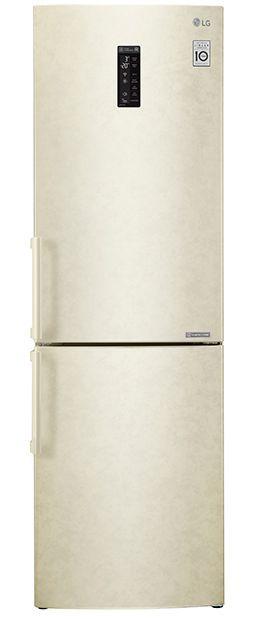 Холодильник LG GA-B449YEQZ,  двухкамерный,  бежевый