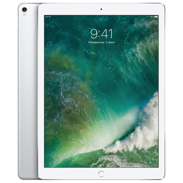 Планшет APPLE iPad Pro 2017 12.9 256Gb Wi-Fi MP6H2RU/A, 4GB, 256Гб, iOS серебристый  - купить со скидкой