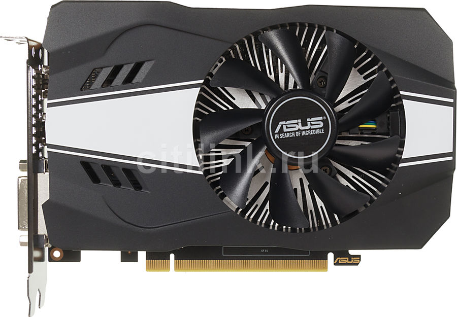 Видеокарта ASUS nVidia  GeForce GTX 1060 ,  PH-GTX1060-3G,  3Гб, GDDR5, Ret