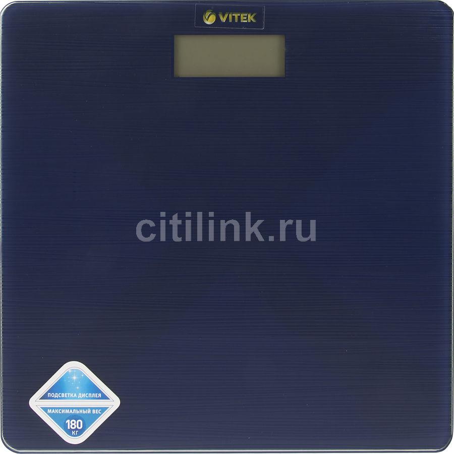 Напольные весы VITEK VT-8062 B, до 180кг, цвет: синий [8062-vt-01]
