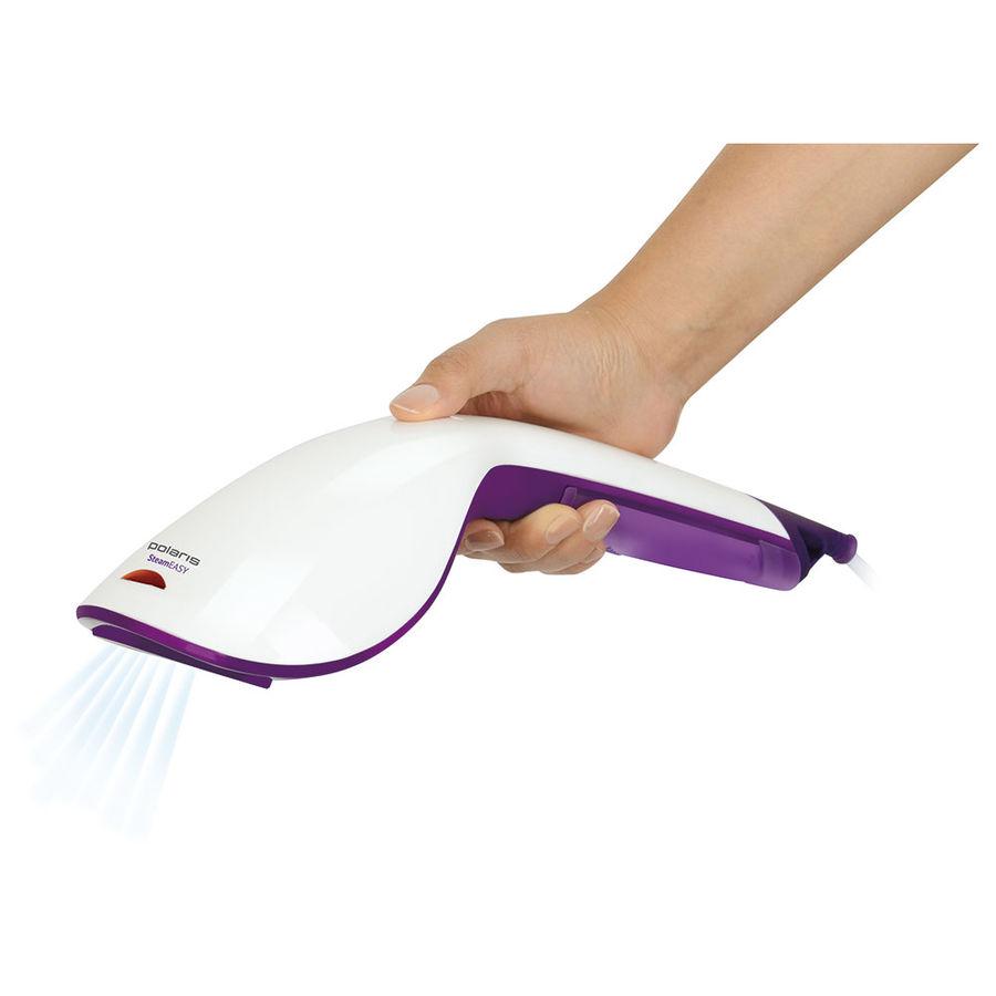 Отпариватель POLARIS PGS 1004C,  белый  / фиолетовый
