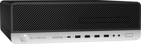 Компьютер  HP EliteDesk 800 G3,  Intel  Core i5  7500,  DDR4 8Гб, 256Гб(SSD),  Intel HD Graphics 630,  DVD-RW,  Windows 10 Professional,  черный [1fu43aw]