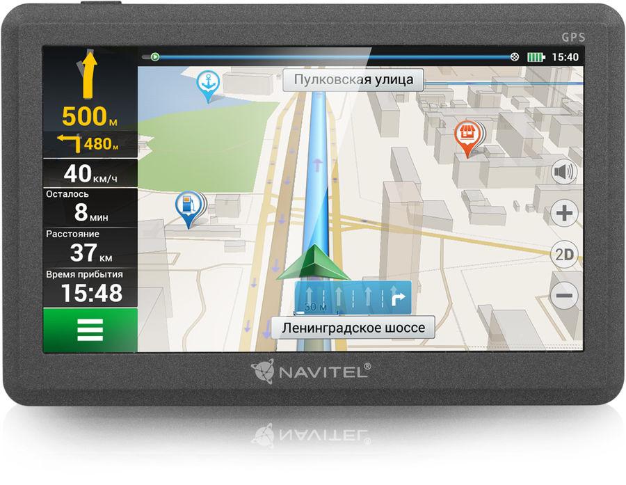 GPS навигатор NAVITEL C500,  черный