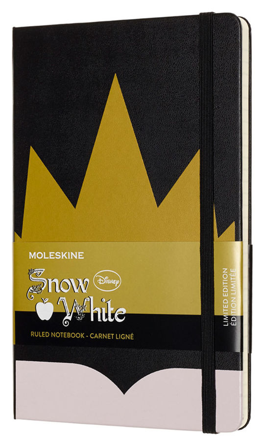 Блокнот Moleskine Limited Edition SNOW WHITE Large 130х210мм 240стр. линейка Crown (Корона) [lesnqp060cr]