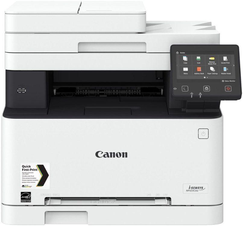 МФУ CANON i-Sensys Colour MF633Cdw,  A4,  цветной,  лазерный,  белый [1475c007]