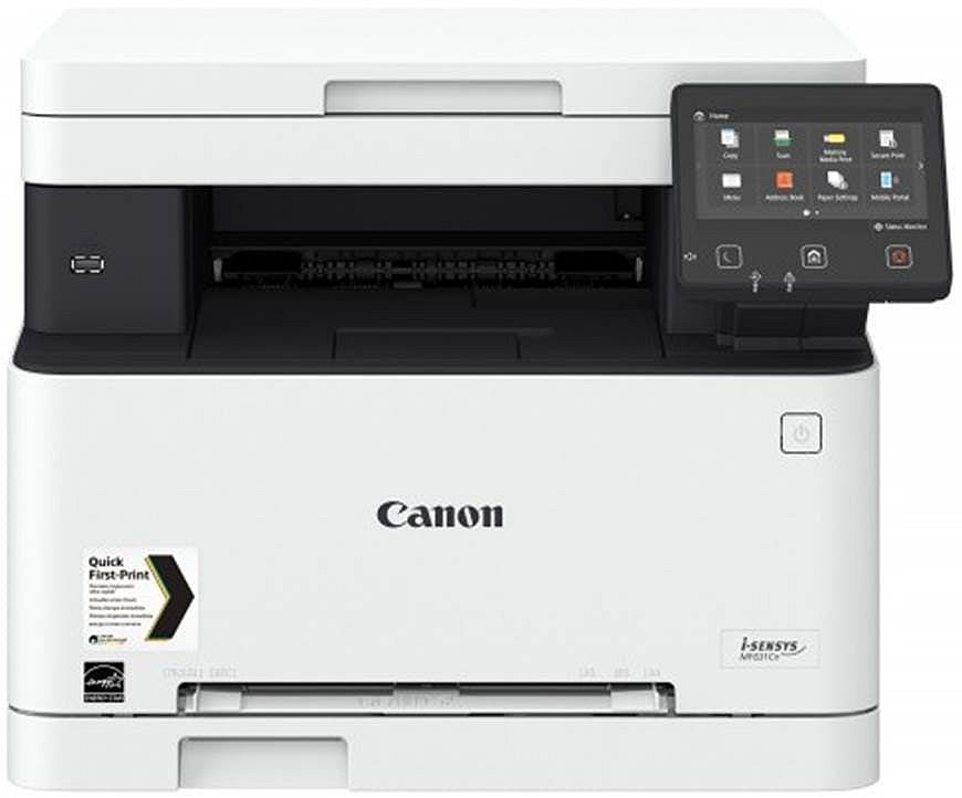 МФУ CANON i-Sensys Colour MF631Cn,  A4,  цветной,  лазерный,  белый [1475c017]