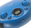 Аудиомагнитола HYUNDAI H-PCD220,  синий вид 8