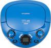 Аудиомагнитола HYUNDAI H-PCD220,  синий вид 4