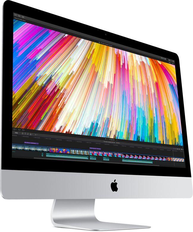 Моноблок APPLE iMac Z0TR000UJ, Intel Core i7 7700K, 32Гб, 1000Гб SSD,  AMD Radeon Pro 580 - 8192 Мб, Mac OS, серебристый и черный