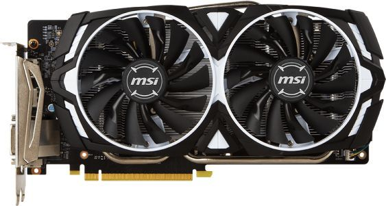 Видеокарта MSI GeForce GTX 1060,  GTX 1060 ARMOR 6G V1,  6Гб, GDDR5, Ret