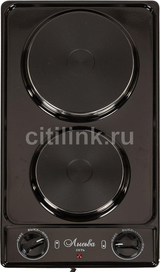 Плита Электрическая Лысьва ЭПБ 22 черный эмаль (настольная) (отремонтированный)
