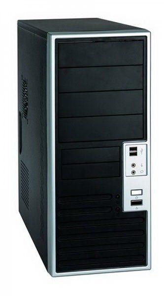 Корпус ATX FOXCONN TLA-483, 350Вт,  черный