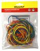 Резинки для купюр Silwerhof 189011 d=60мм 2мм 100гр ассорти пластиковый пакет