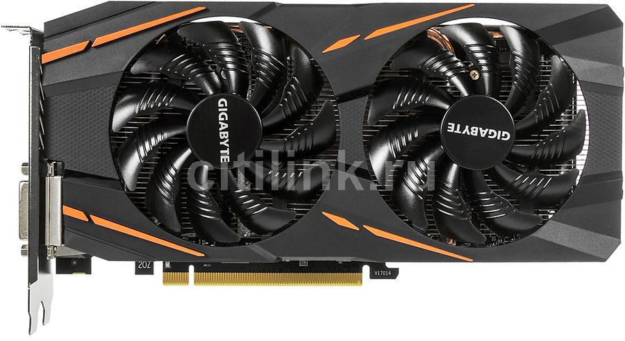 Видеокарта GIGABYTE AMD  Radeon RX 570 ,  GV-RX570GAMING-4GD-MI,  4Гб, GDDR5, Bulk