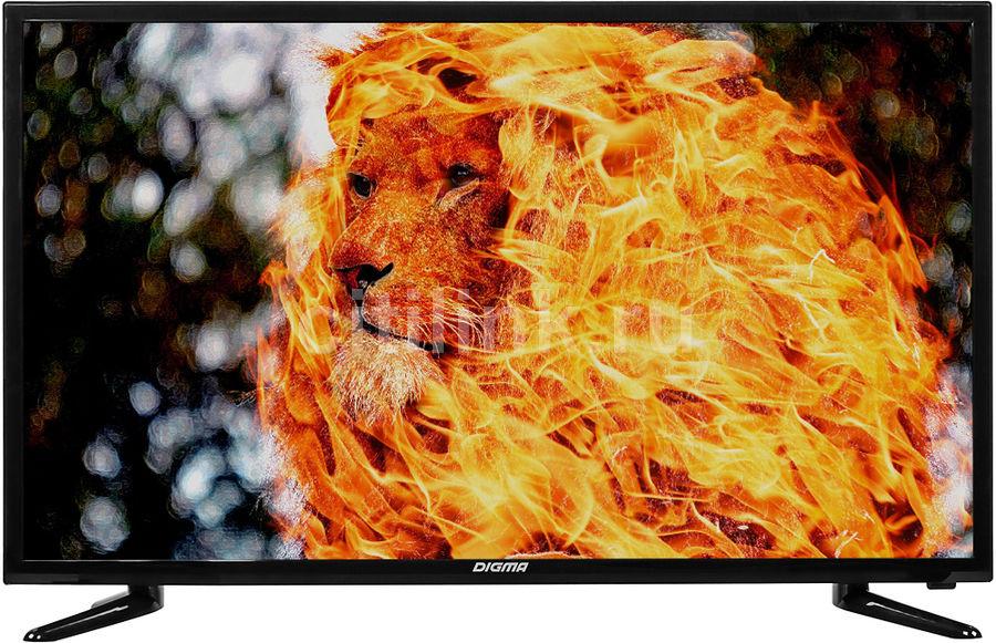 "LED телевизор DIGMA DM-LED32R201BT2  ""R"",  черный"