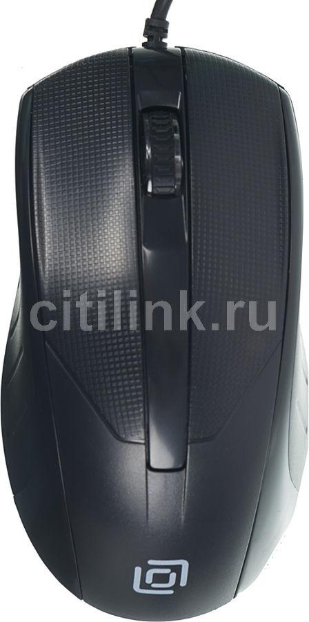 Мышь OKLICK 315M оптическая проводная USB, черный