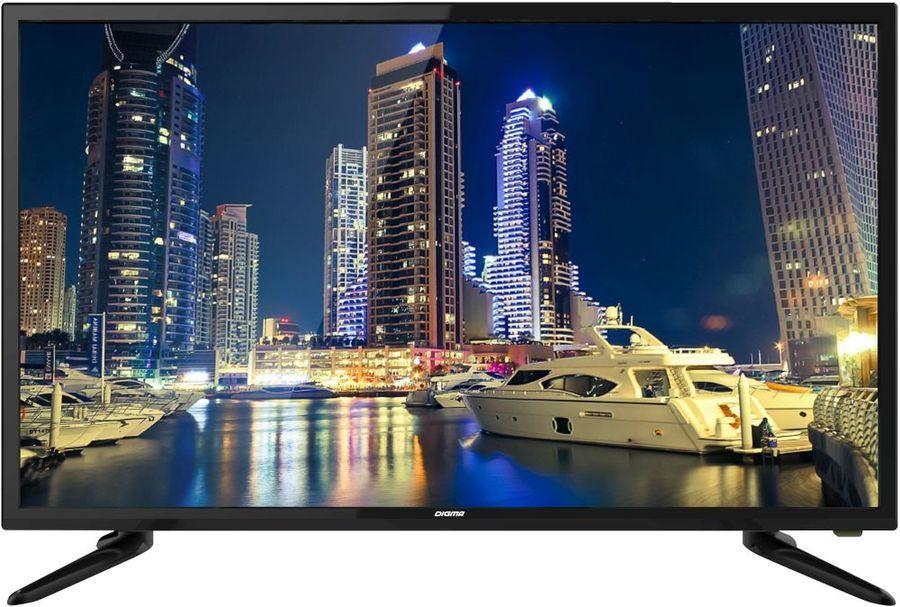 "LED телевизор DIGMA DM-LED39R201BT2  ""R"",  черный"