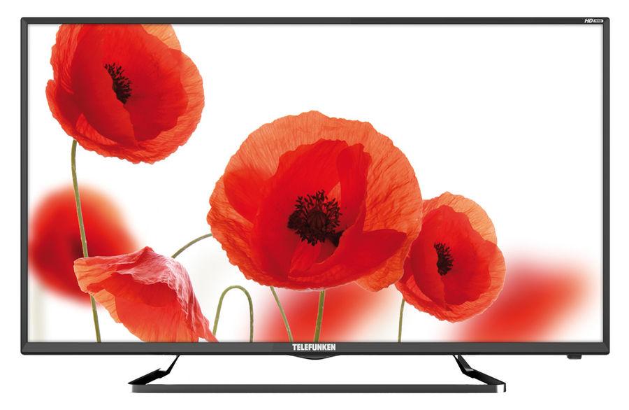 """LED телевизор TELEFUNKEN TF-LED39S52T2  """"R"""", 38.5"""", HD READY (720p),  черный"""