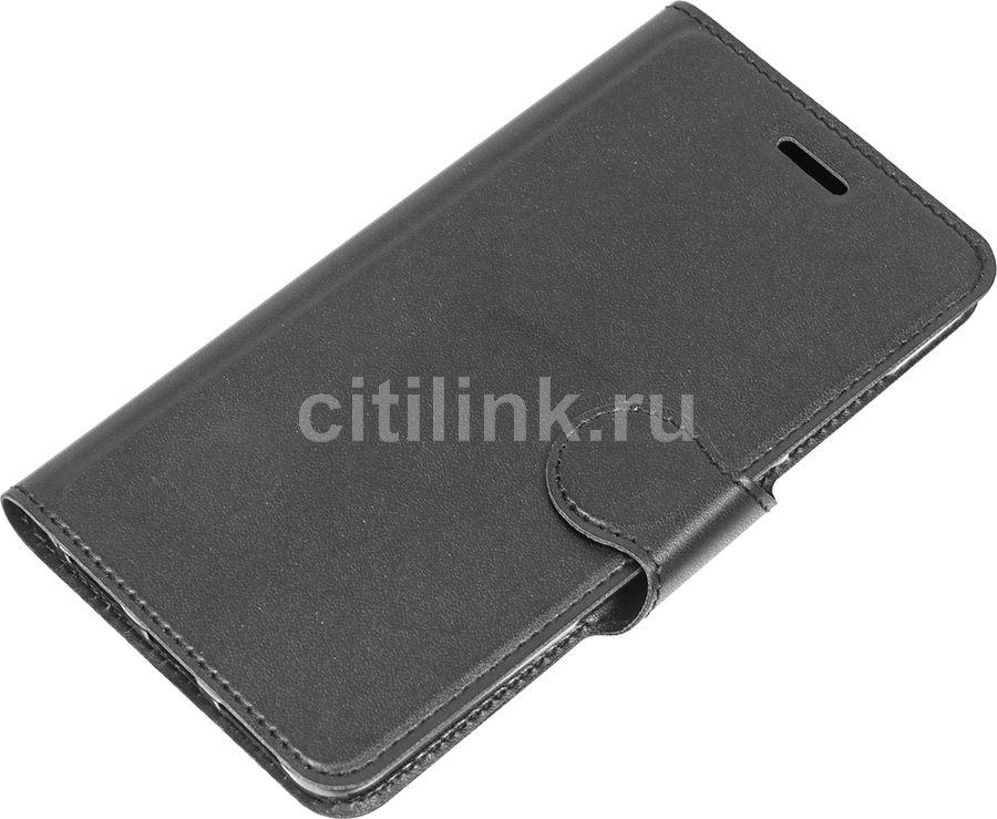 Чехол-книжка REDLINE Book Type, для Xiaomi Redmi Note 4X, черный [ут000011788]