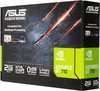 Видеокарта ASUS nVidia  GeForce GT 710 ,  GT710-SL-2GD5-BRK,  2Гб, GDDR5, Low Profile,  Ret вид 7