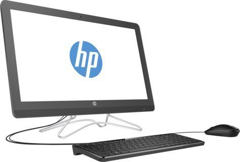 Моноблок HP 24-e054ur, Intel Core i5 7200U, 8Гб, 1000Гб, Intel HD Graphics 620, DVD-RW, Windows 10, серый [2bw47ea]