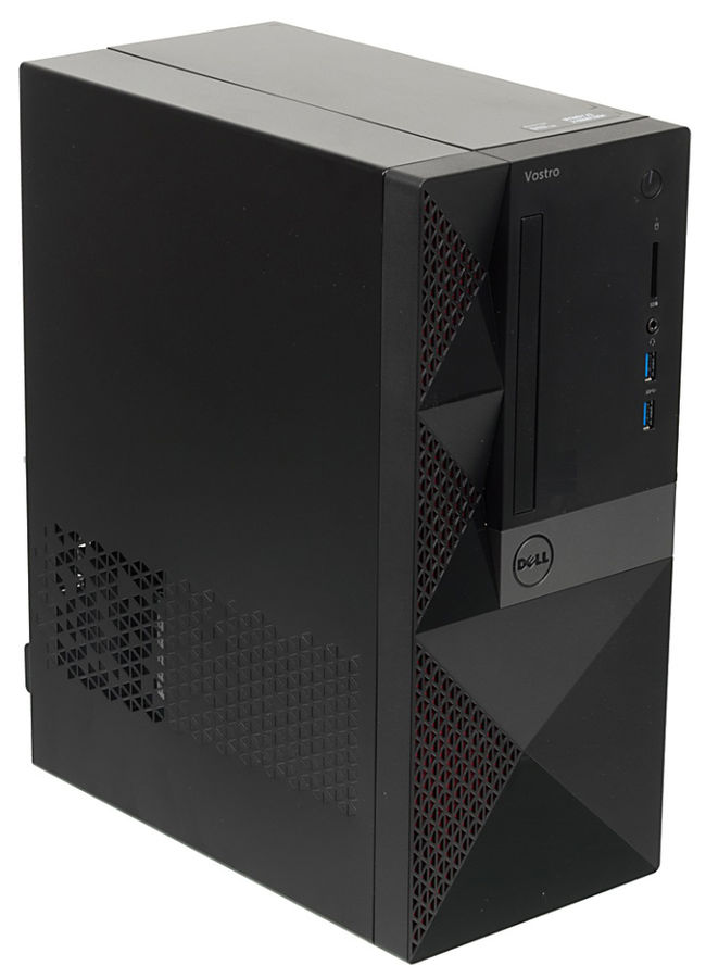 Компьютер  DELL Vostro 3667,  Intel  Core i3  6100,  DDR4 4Гб, 1000Гб,  Intel HD Graphics 530,  CR,  Windows 10 Home,  черный [3667-8109]