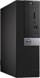 Компьютер  DELL Optiplex 7050,  Intel  Core i5  6500,  DDR4 8Гб, 256Гб(SSD),  Intel HD Graphics 530,  DVD-RW,  Windows 7 Professional,  черный и серебристый [7050-4353]