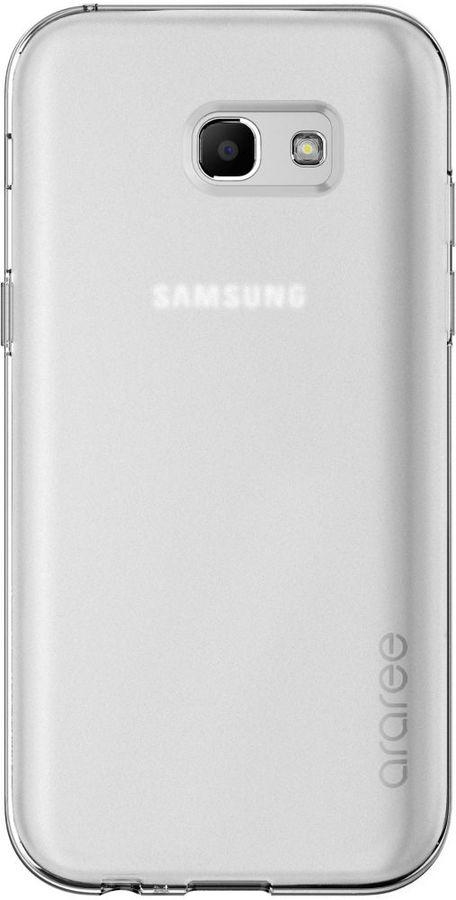 Чехол (клип-кейс) SAMSUNG araree Airfit, для Samsung Galaxy A3 (2017), прозрачный [gp-a320kdcpaae]