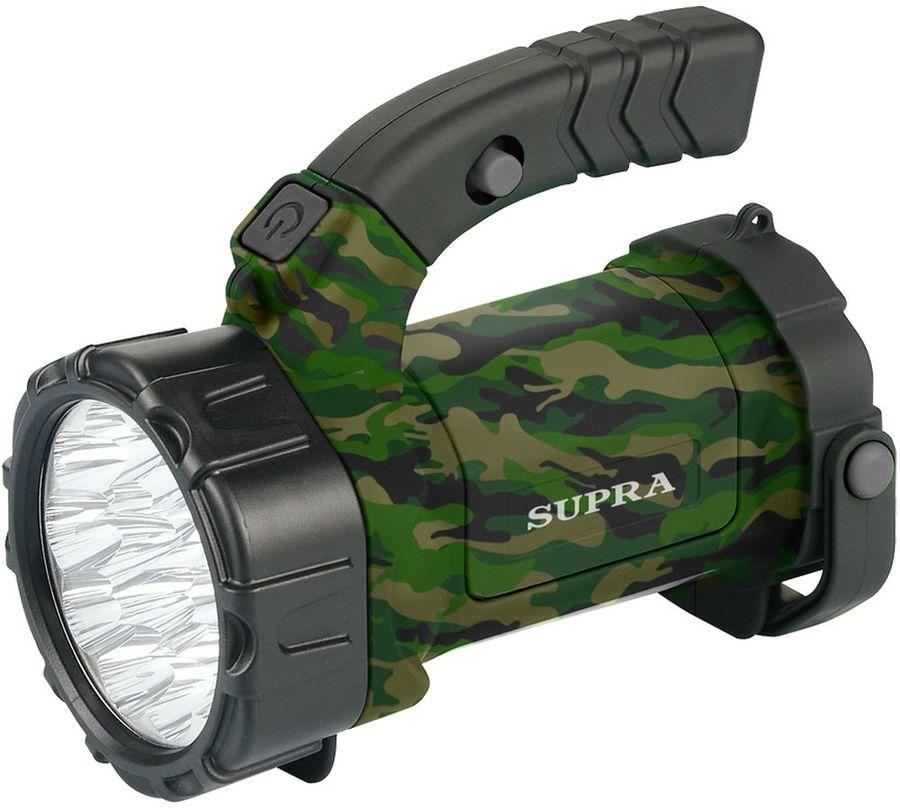 Аккумуляторный фонарь SUPRA SFL-PLR-15L, камуфляж  [6442]