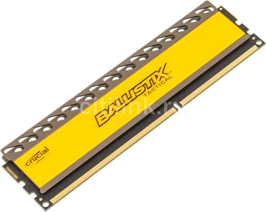 Модуль памяти CRUCIAL Ballistix Tactical BLT4G3D21BCT1J DDR3 -  4Гб 2133, DIMM,  Ret