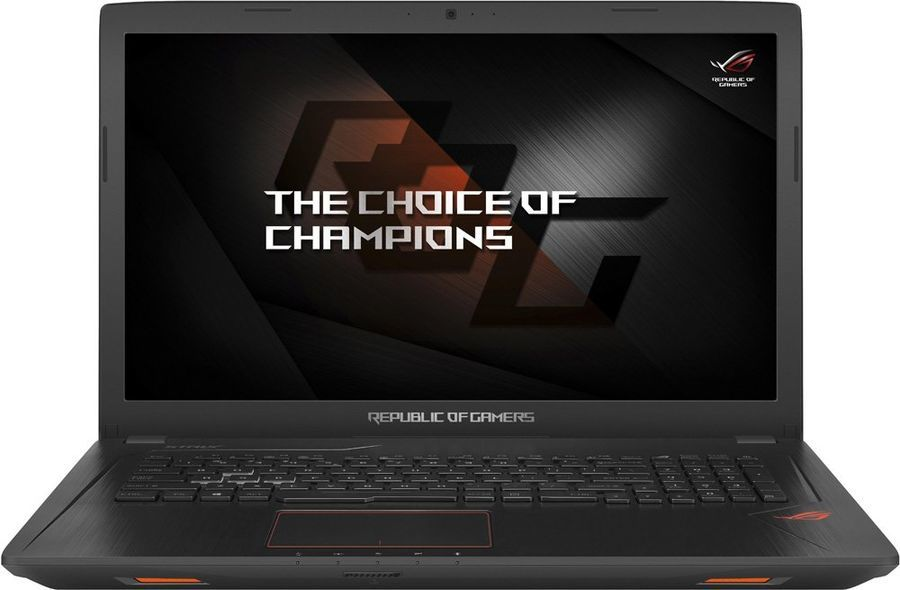 "Ноутбук ASUS ROG GL753VE-GC065T, 17.3"", Intel  Core i7  7700HQ 2.8ГГц, 16Гб, 2Тб, 256Гб SSD,  nVidia GeForce  GTX 1050 Ti - 4096 Мб, DVD-RW, Windows 10, 90NB0DN2-M00860,  черный"
