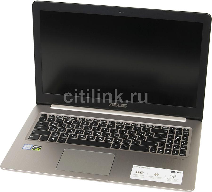 Ноутбук ASUS N580VD-DM129T, 90NB0FL1-M08720,  золотистый