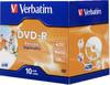 Оптический диск DVD-R VERBATIM 4.7Гб 16x, 10шт., jewel case, printable [43521] вид 1