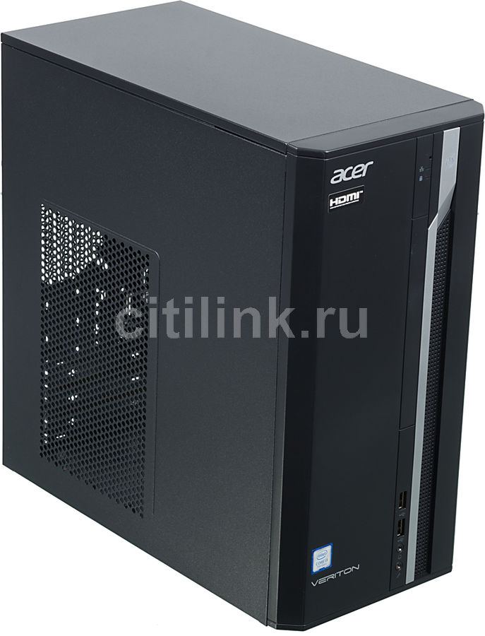 Компьютер  ACER Veriton ES2710G,  Intel  Core i3  7100,  DDR4 4Гб, 256Гб(SSD),  Intel HD Graphics 630,  Windows 10 Professional,  черный [dt.vqeer.030]