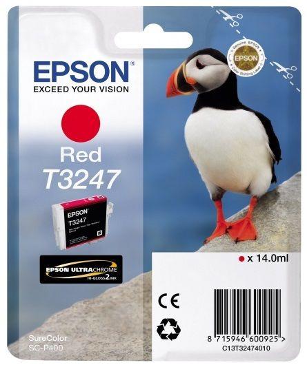 Картридж EPSON T3247 красный [c13t32474010]