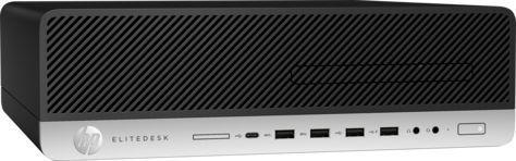 Компьютер  HP EliteDesk 800 G3,  Intel  Core i5  6500,  DDR4 8Гб, 500Гб,  Intel HD Graphics 530,  DVD-RW,  Windows 10 Professional,  черный [1kl68aw]
