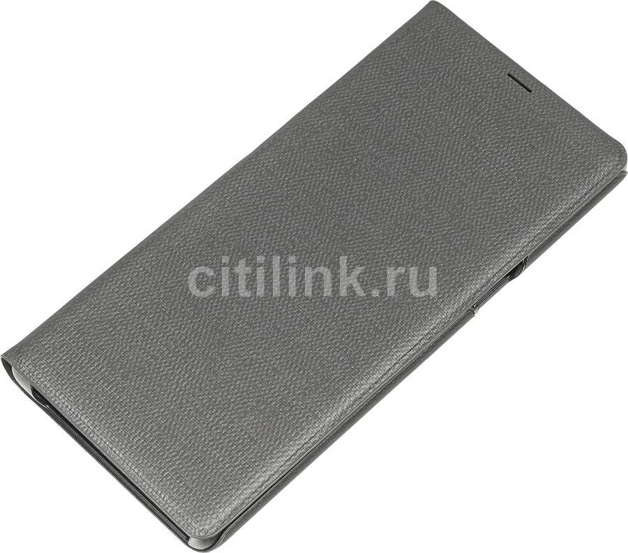 Чехол (флип-кейс) SAMSUNG LED View Cover, для Samsung Galaxy Note 8, черный [ef-nn950pbegru]