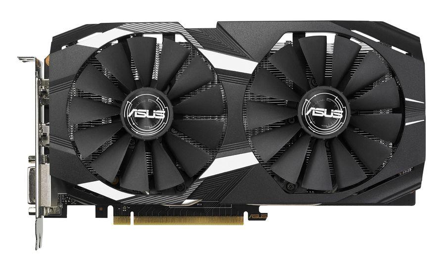 Видеокарта ASUS nVidia  GeForce GTX 1050TI ,  GTX1050TI-DC2O4G,  4Гб, GDDR5, OC,  Ret