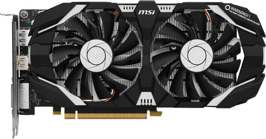 Видеокарта MSI GeForce GTX 1060,  GTX 1060 6GT V1,  6Гб, GDDR5, Ret