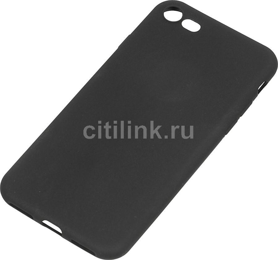 Чехол (клип-кейс) DEPPA Anycase, для Apple iPhone 7/8, черный [140027]