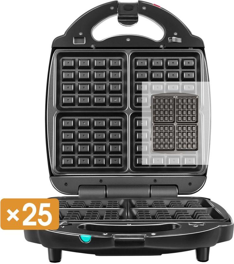 Мультипекарь Redmond RMB-M713/1 1400Вт черный/серебристый (плохая упаковка)