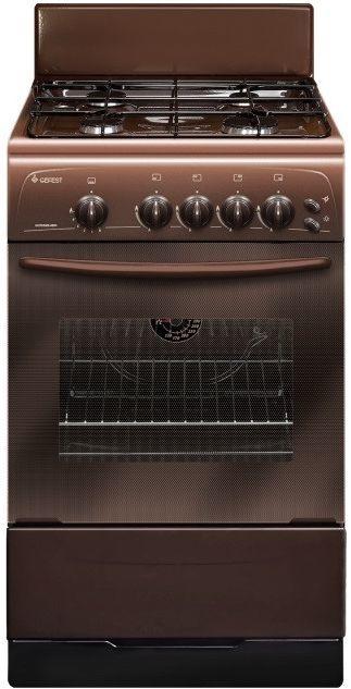 Газовая плита GEFEST 3200-06 К86 духовка,  коричневый