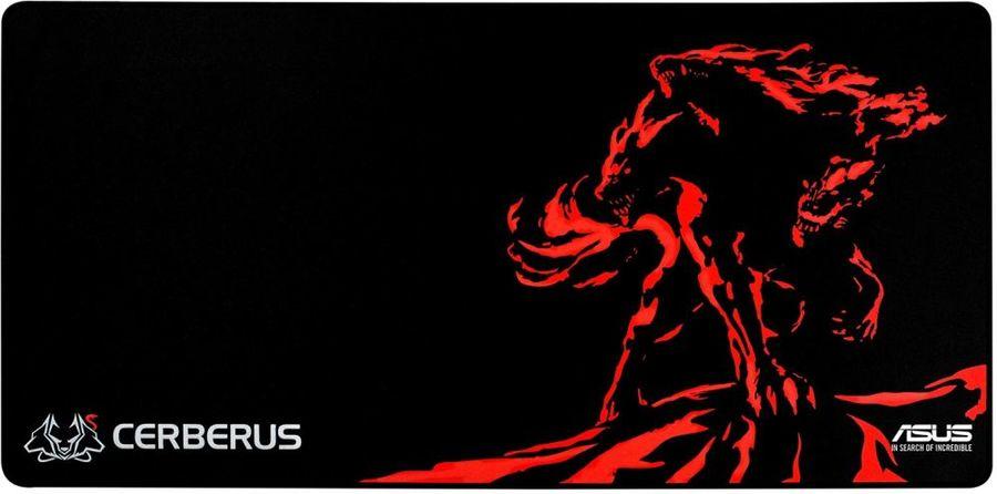 Коврик для мыши ASUS CERBERUS MAT XXL черный/красный [90yh01c1-bdua00]