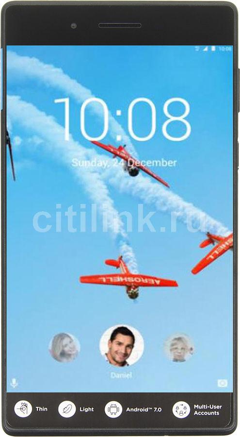 Планшет LENOVO Tab 4 TB-7304F,  1GB, 8GB, Android 7.0 черный [za300009ru]