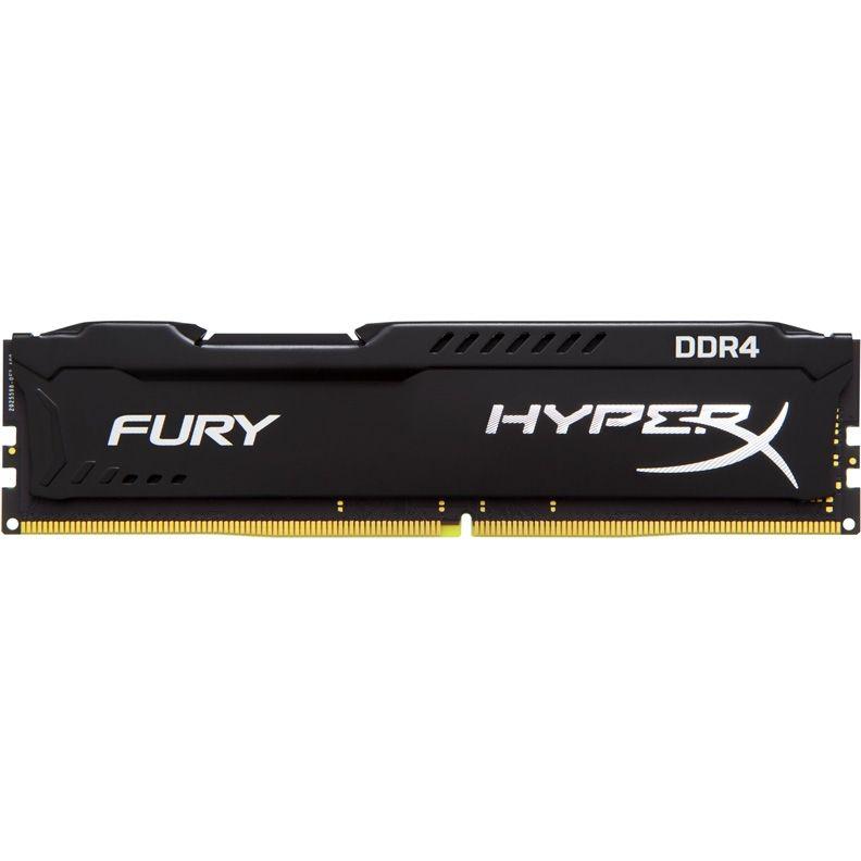 Модуль памяти KINGSTON HyperX FURY Black HX421C14FB/16 DDR4 -  16Гб 2133, DIMM,  Ret